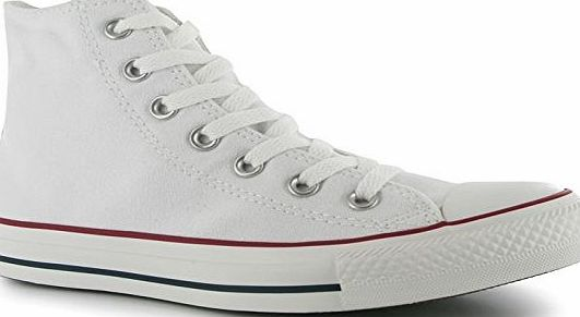 Converse All Stars Hi Top Mens Trainers [ Optical White , UK 5 ]